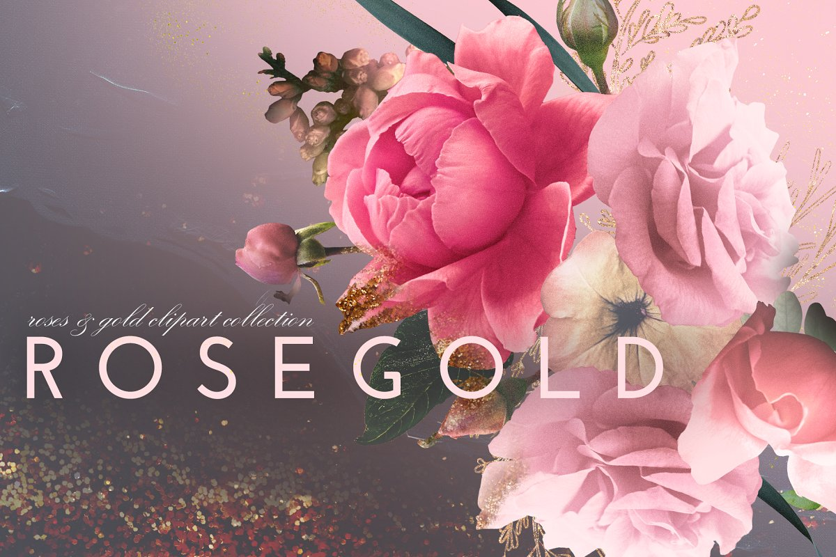Rosegold Collection ~ Illustrations ~ Creative Market.