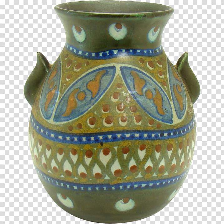 Vase Van Briggle Pottery Ceramic Roseville, vase transparent.