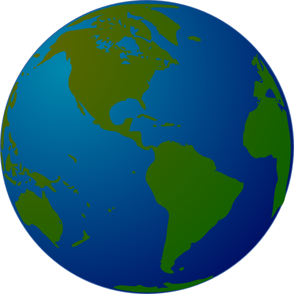 Clipart rotating globe clipground globe clip art at clker gumiabroncs Image collections