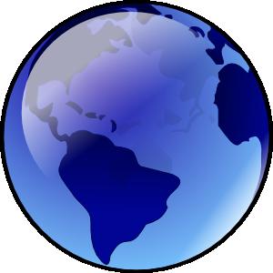 Blue Earth Clip Art at Clker.com.