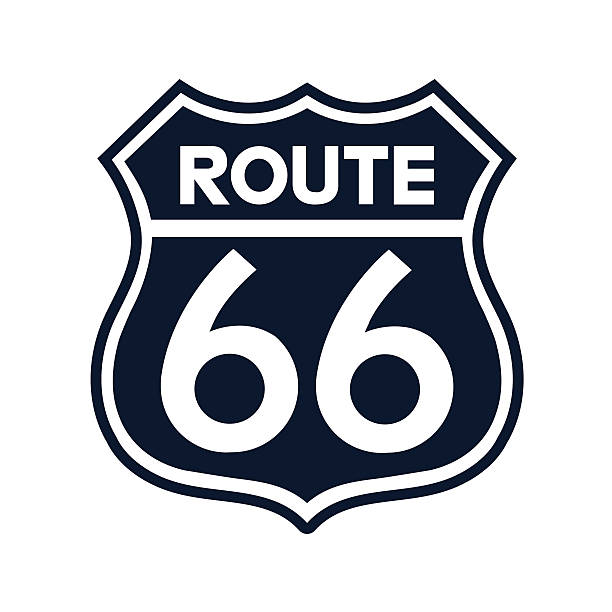 Best Route 66 Illustrations, Royalty.