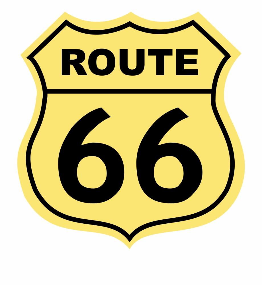 Route 66 Logo Png Transparent Route 66.