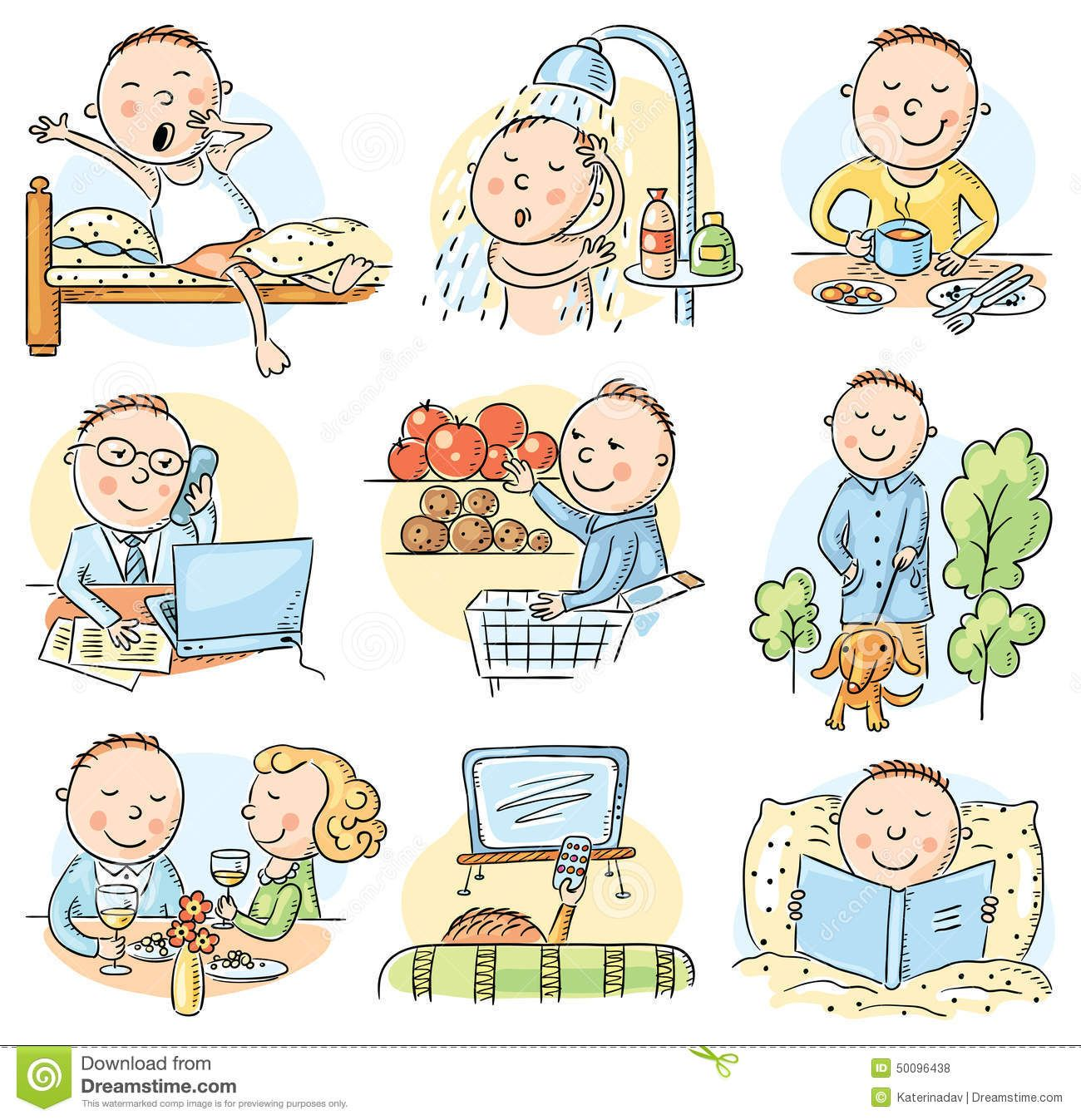 Routine clipart 6 » Clipart Station.