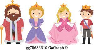 Royal Family Clip Art.