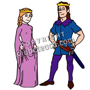 Clip Art: Royal Family:.