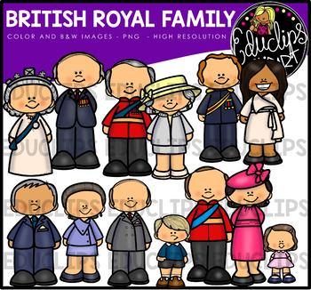 British Royal Family Clip Art Bundle {Educlips Clipart} in 2019.