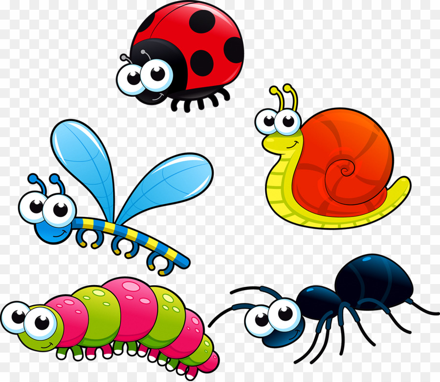 Bugs Cartoon PNG Insect Royalty.
