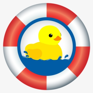 Free Rubber Ducky Clip Art with No Background.