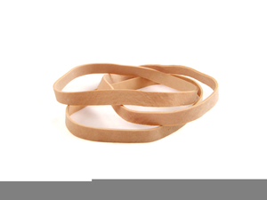 Rubber Bands Clipart.