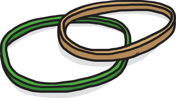 Best Rubber Band Illustrations, Royalty.