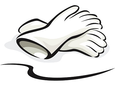 Rubber Gloves Clipart.