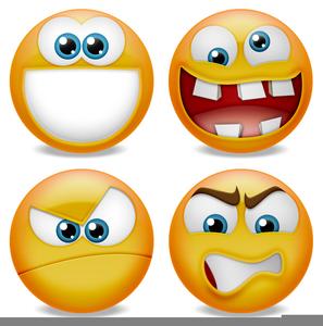 Rude Emoticon Clipart.