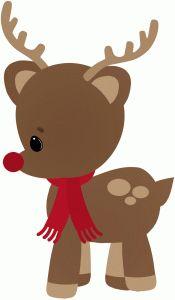 Christmas clipart rudolph.