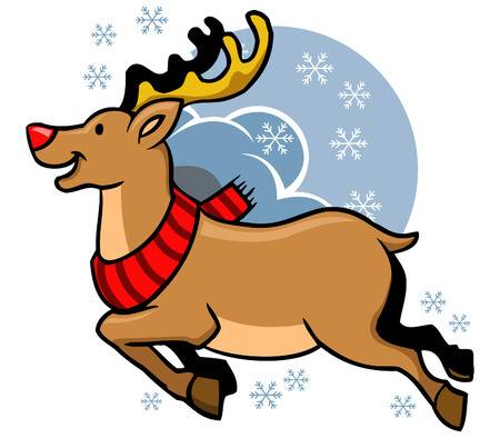 Rudolph The Red Nosed Reindeer Clipart Free Download Clip.