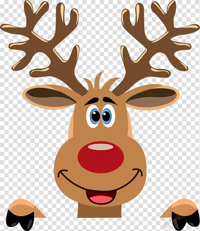 Reindeer Ded Moroz Rudolph , Reindeer transparent background.