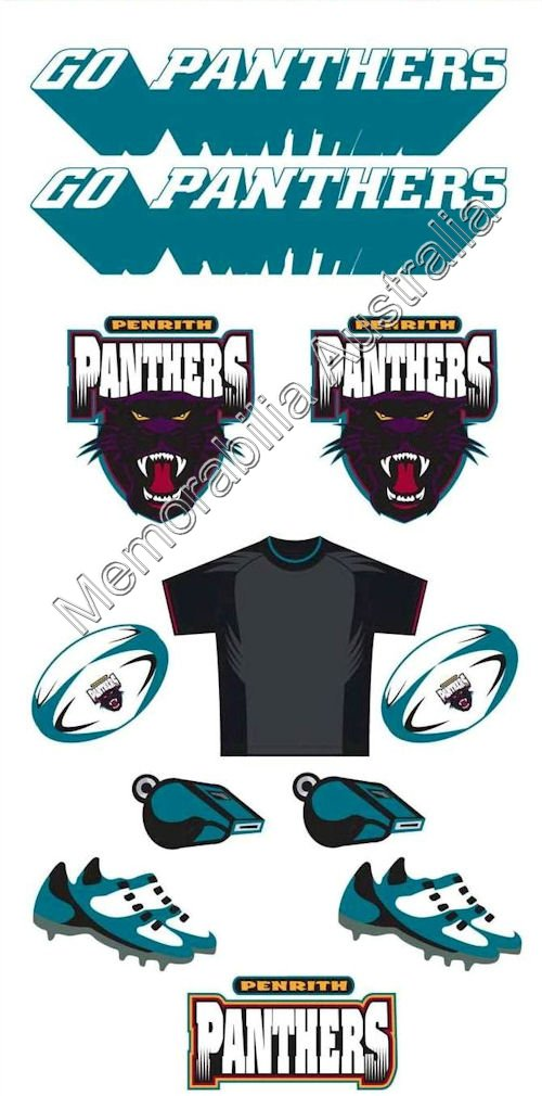 Penrith Panthers NRL Tattoo Sheet :: Penrith Panthers :: NRL.