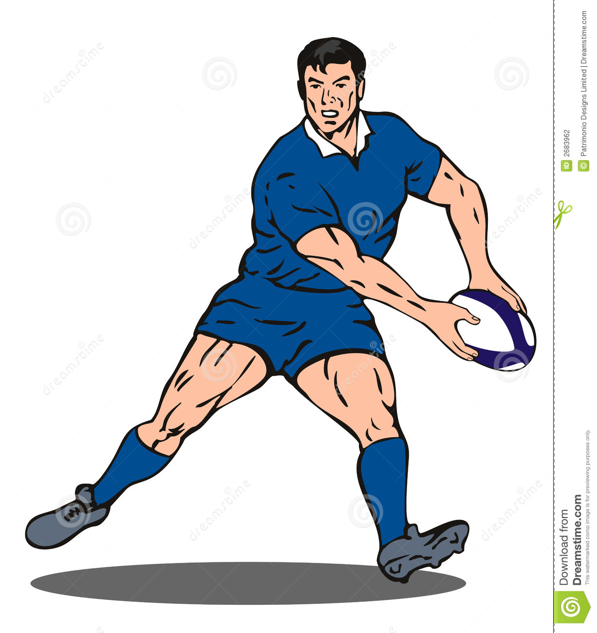 Rugby Player Clipart, Download Free Clip Art on Clipart Bay.