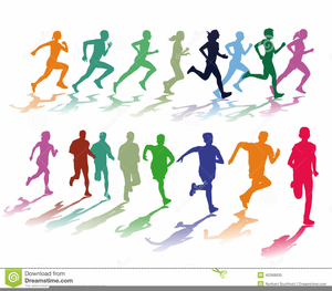 Clipart Runners Cartoon.