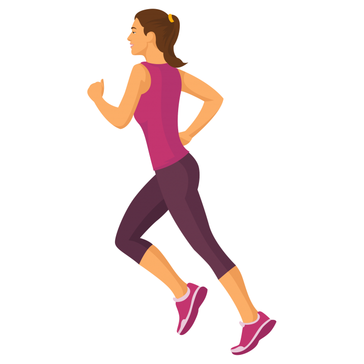 Running Girl Clipart PNG Free Download searchpng.com.