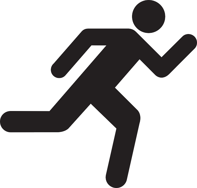Person Running Clipart , Transparent Cartoon.