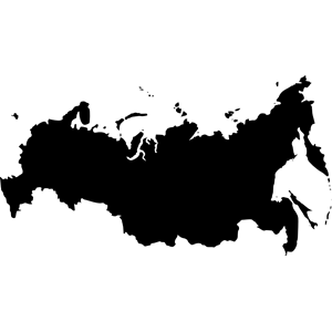 Russia outline map clipart, cliparts of Russia outline map free.