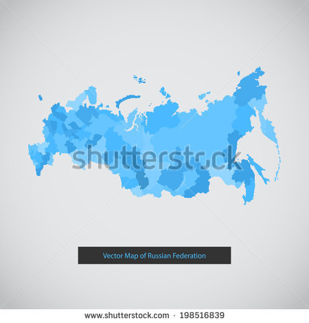 Russia Map Stock Images, Royalty.