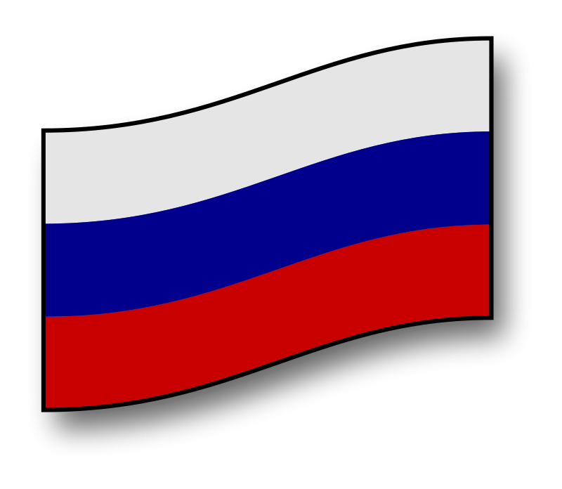 Flag of Russia Clip art.
