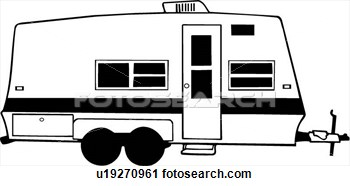 Rv Trailer Clipart.
