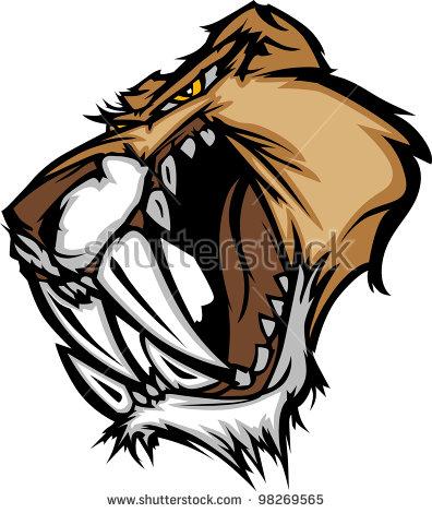 Wildcat Mascot Stock Images, Royalty.