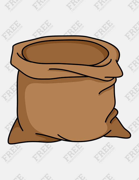 Sack clipart » Clipart Station.