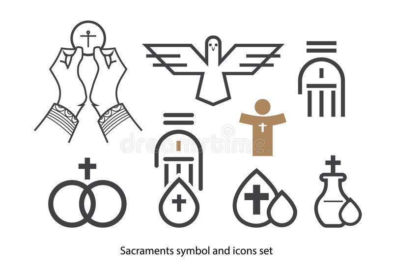 Sacraments Stock Illustrations.