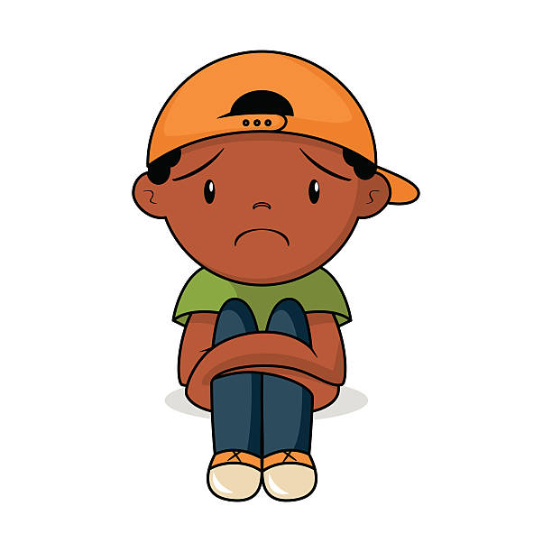 Sad Boy Clipart.