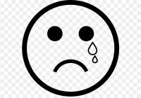 free clipart crying face.