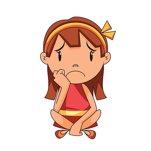 Sad Girl Clipart Images.