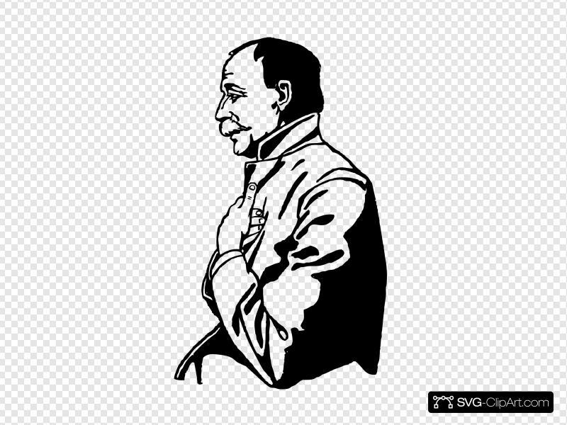 Sad Man Clip art, Icon and SVG.