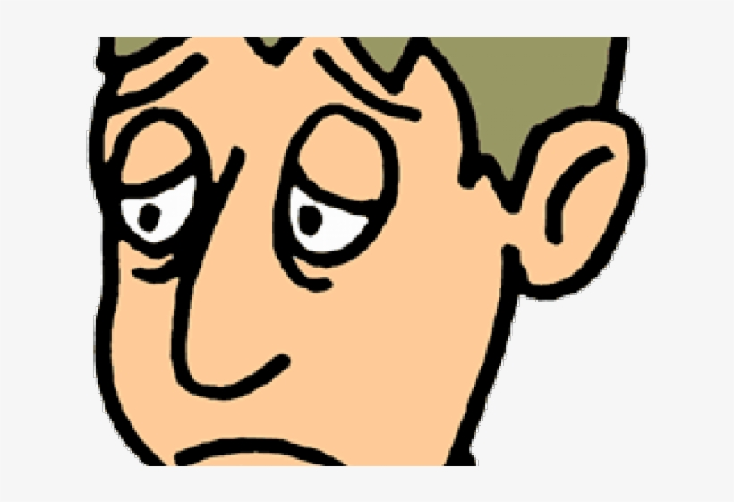 Grieve Clipart Sad Man.
