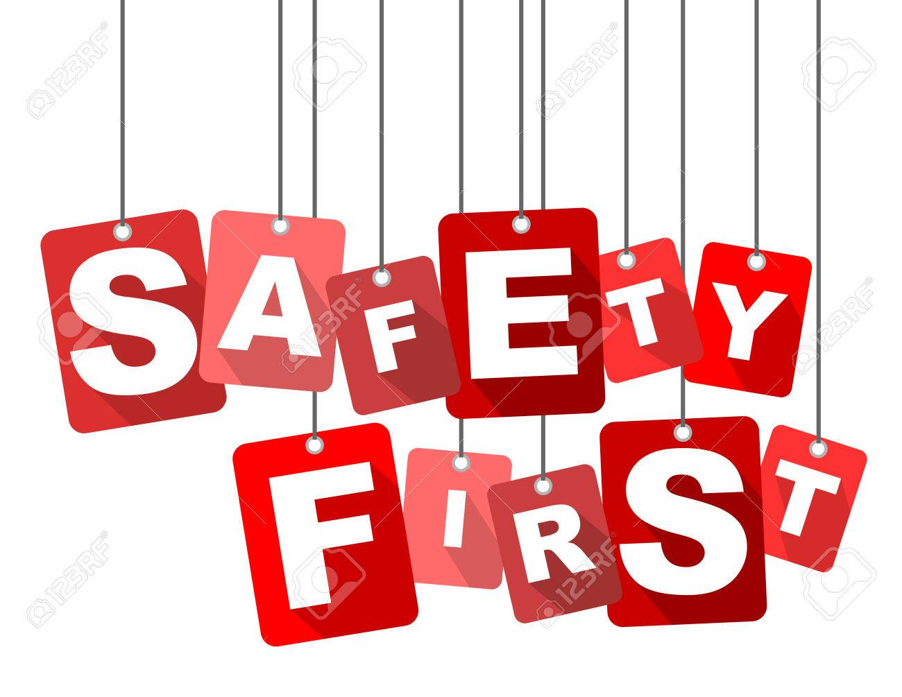 safety first, red vector safety first, flat vector safety first,...