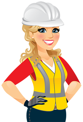 Health And Safety Officer Clipart.