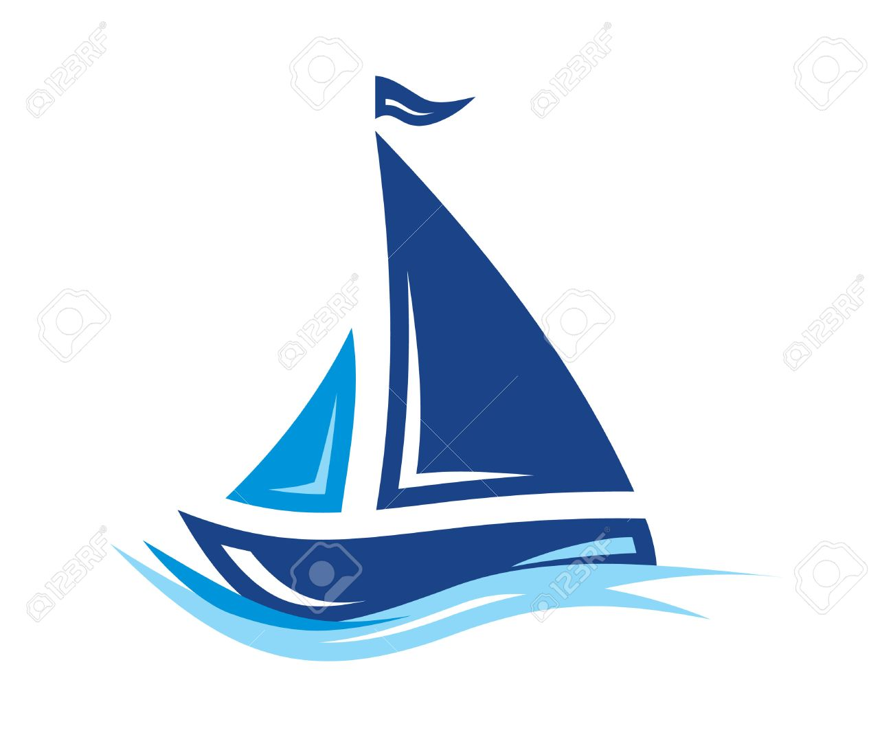 61,667 Sailboat Stock Vector Illustration And Royalty Free Sailboat.