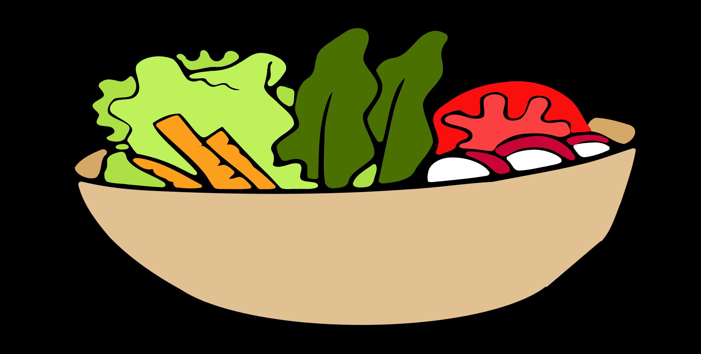 Bowl clipart salad bowl, Bowl salad bowl Transparent FREE.