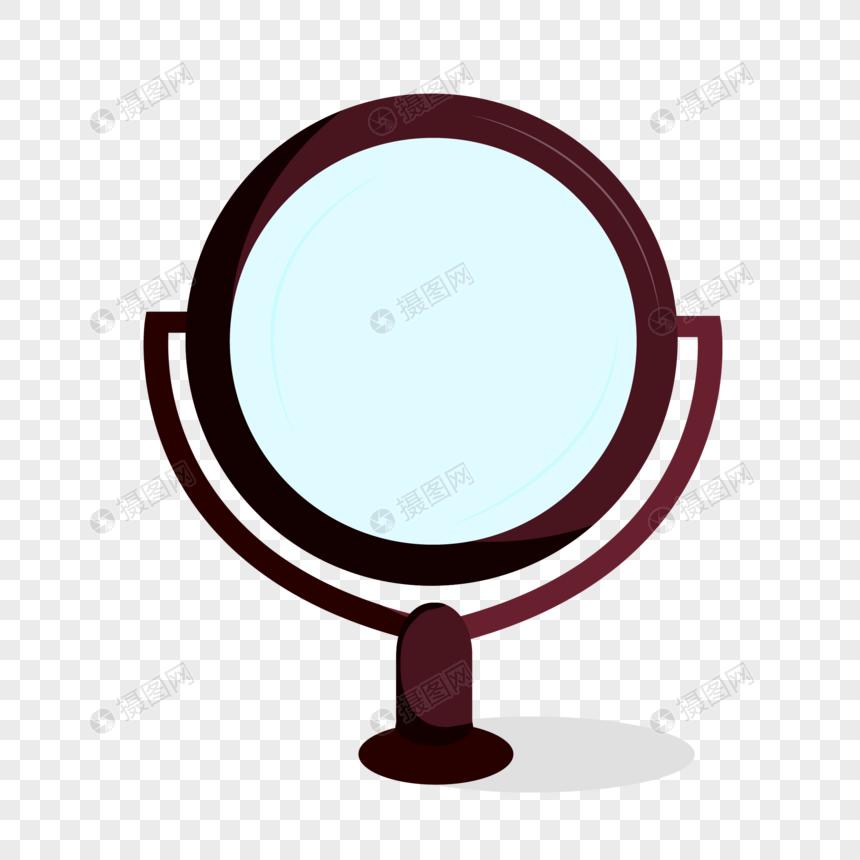 Зеркальный элемент для макияжа изображение_Фото номер.