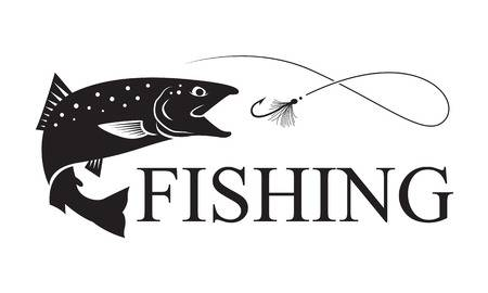 6,360 Salmon Fishing Stock Illustrations, Cliparts And Royalty Free.