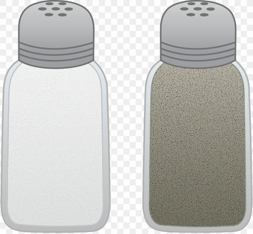 Salt And Pepper Shakers Spice Black Pepper Clip Art, PNG.