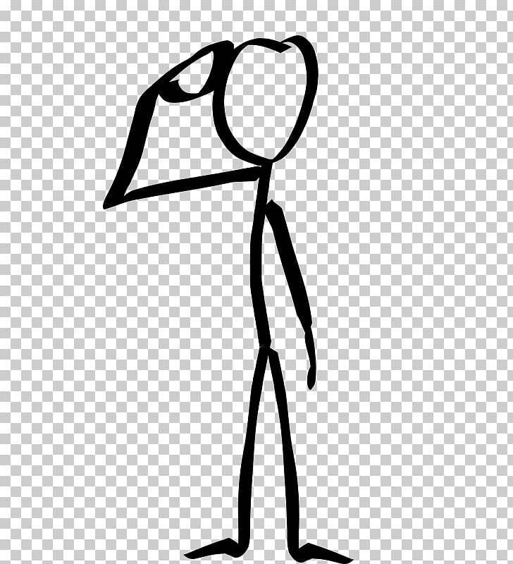 Soldier Salute Drawing Stick figure , saluting PNG clipart.