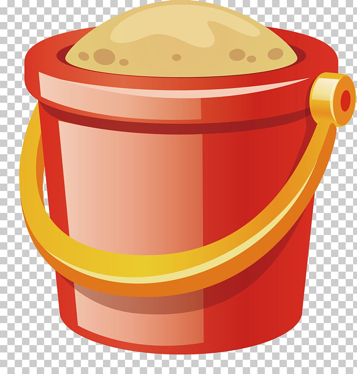 Sand Bucket , Sand bucket PNG clipart.