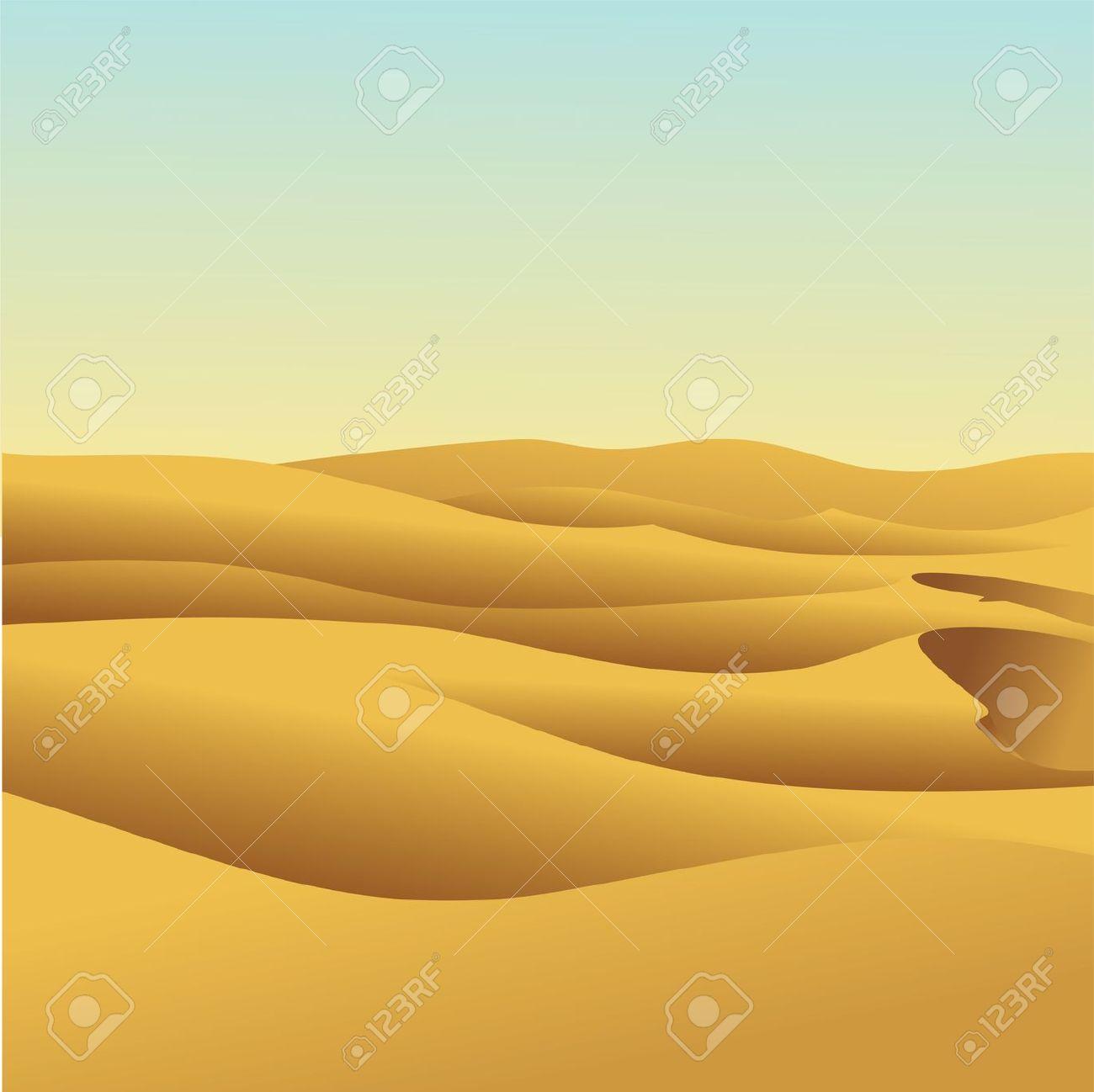 desert landscape: Sand dune.