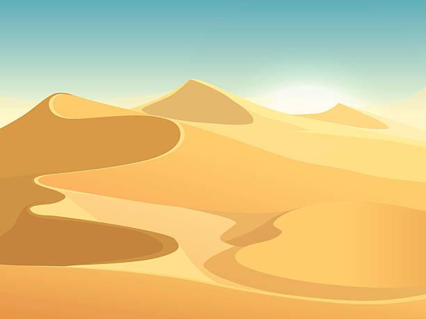Best Sand Dunes Illustrations, Royalty.