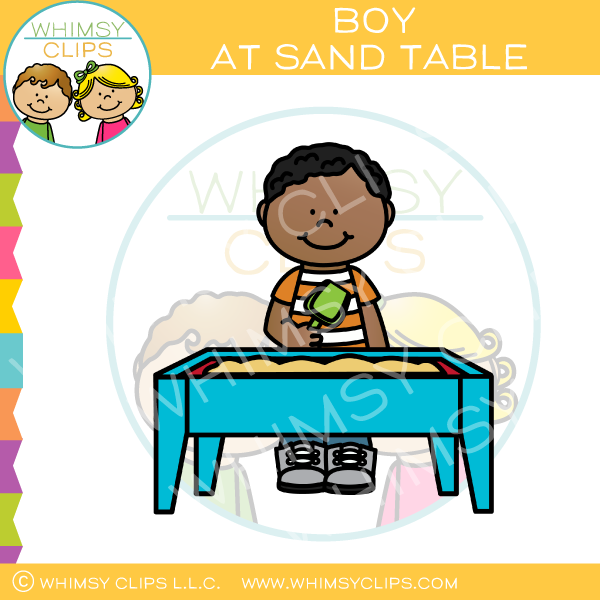 Sand table clip art , Images & Illustrations.