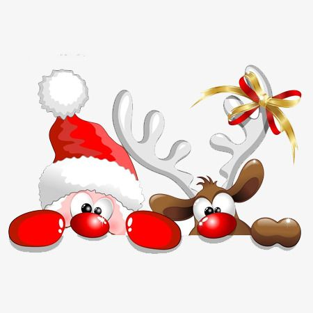 Santas Reindeer, Santa Claus, Reindeer, Tummy PNG.