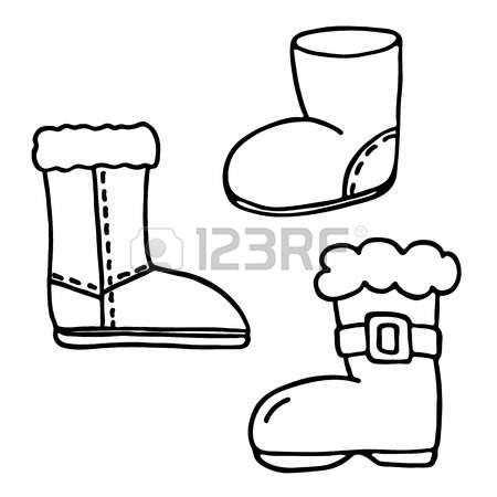 714 Fur Boots Stock Vector Illustration And Royalty Free Fur Boots.
